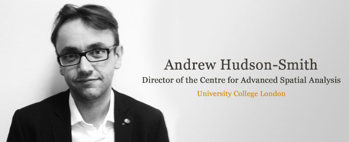 Interview with Andrew Hudson - From smart data to smart cities