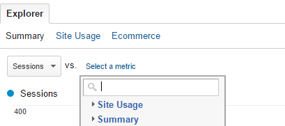 explorer in google analytics
