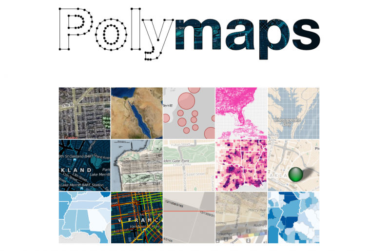 Polymaps Visualizes You Guessed It Maps Polymaps Is A Javascript Library That Uses Svg To Represent Geographical Data From Country Wide Level All The