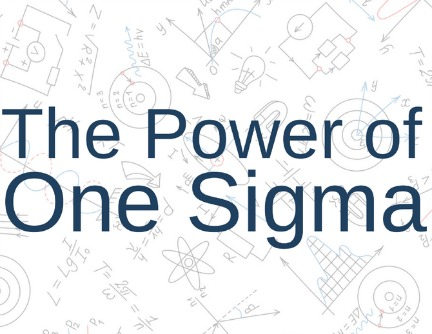 The power of one sigma - JP Nicols