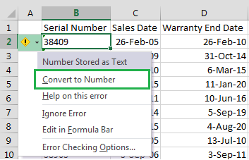 Excel-Convert-To-Number