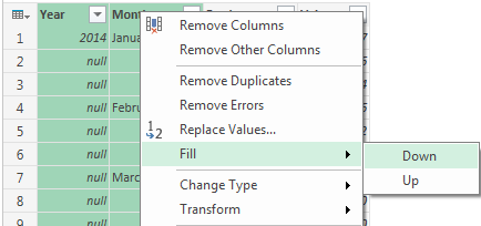 PowerQuery-Fill-Down-Option