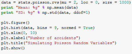 poisson random variables