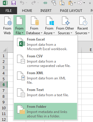 PowerQuery-Import-From-Folder
