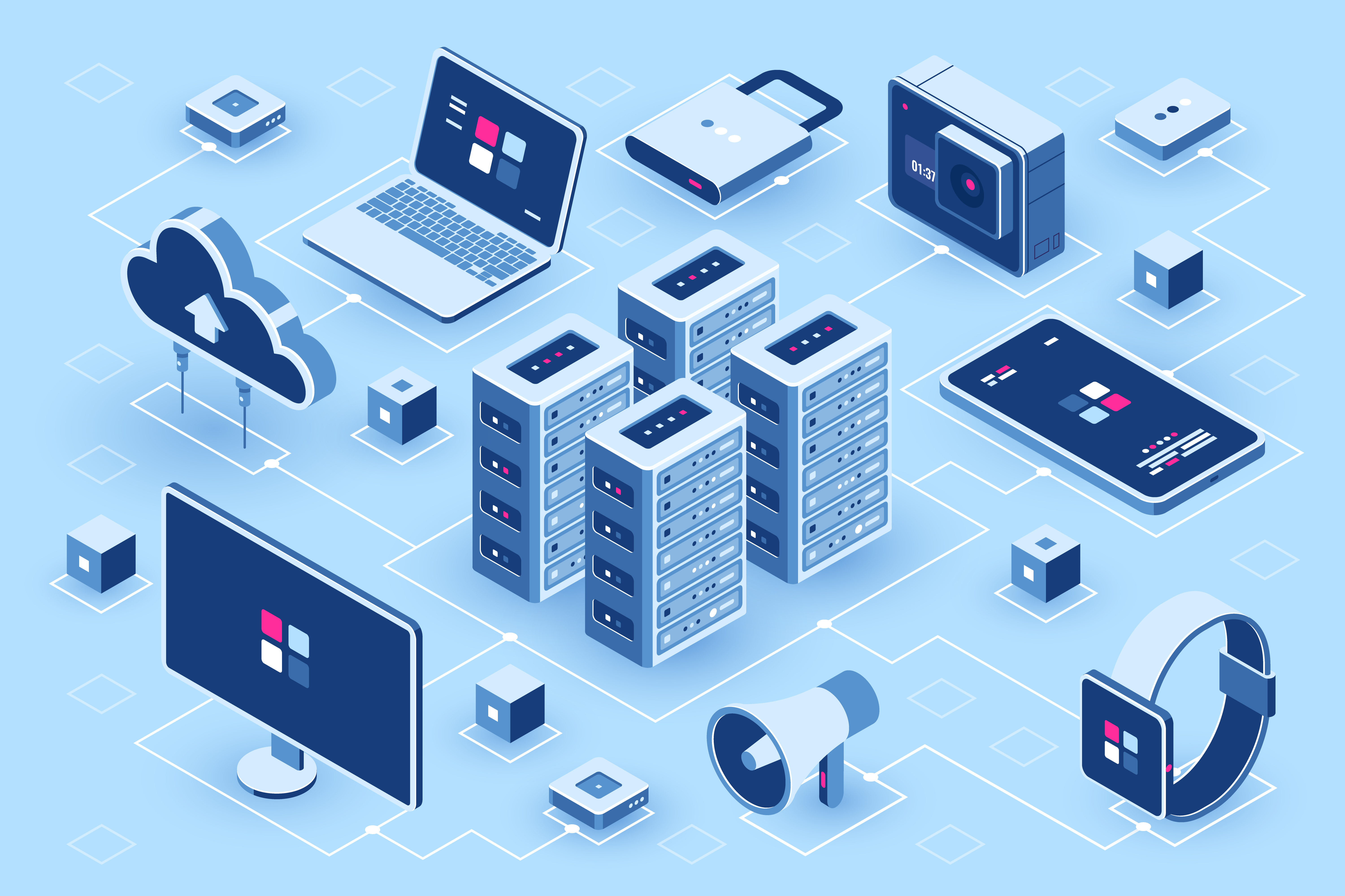 improved connectivity and big data